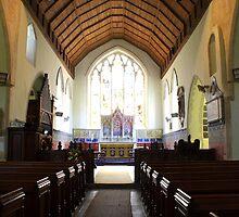 St Mary Bishopsbourne by Dave Godden