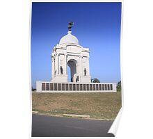 Pennsylvania Monument at Gettysburg Poster