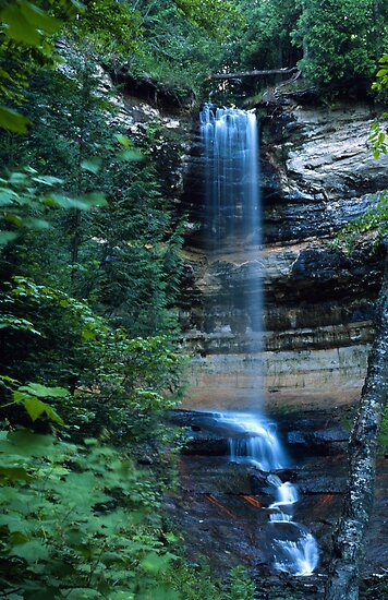 Another Munsing Falls by Bill Spengler