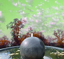 Orb Fountain by John N.  Stewart