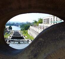 The Ottawa Locks by Jeannine St-Amour