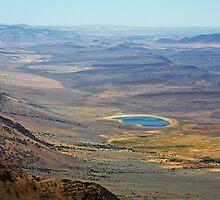 South Eastern Oregon Desert by Julia Washburn