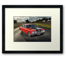 Red Ford XY GT Replica Framed Print