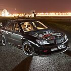 Black Subaru WRX by John Jovic