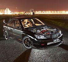 Black Subaru WRX by John Jovic