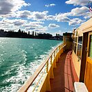 Manly Ferry by Judith Cahill