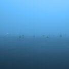 Harbor fog by kathy s gillentine