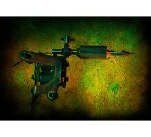 Tattoo Gun Photographic Print