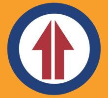 Retro Sixties Inspired Mod Arrow Target by Auslandesign
