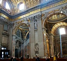 Church in Vatican, Rome by Paul Jarrett