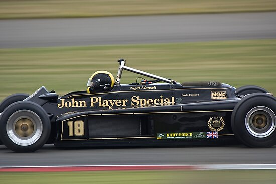 1981 Lotus 87 by Willie Jackson