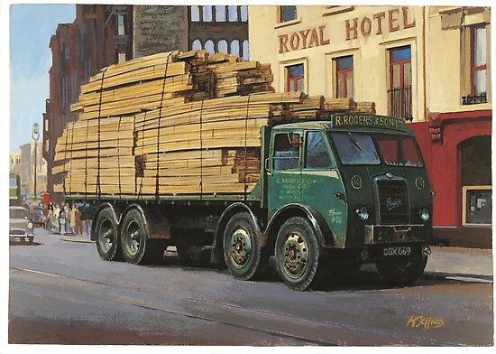 Foden DG 1946. by Mike Jeffries
