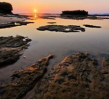 Mermaid Rock sunrise by Rob  Southey