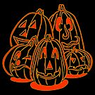 Jack o Lanterns by Hena Tayeb