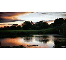 Twilight .... Photographic Print