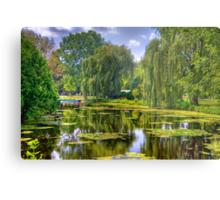 Lakeside Park Lagoon-3 Metal Print