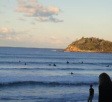 Brazillian surfers at Manly by markmux