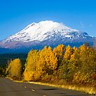 Mount Adams in Autumn by RavenFalls