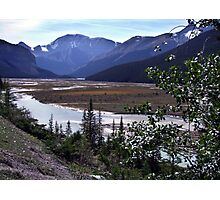 Beauty Creek Flatlands Photographic Print