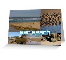 Bar Beach Greeting Card