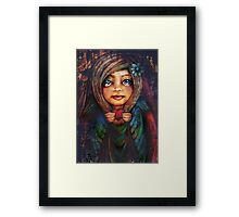 from the heart Framed Print
