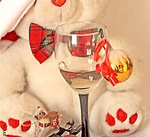 Mr Teddy Bear's romantic  Christmas evening by pogomcl
