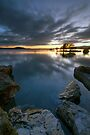 Lake Rotorua, Sunrise by Michael Treloar