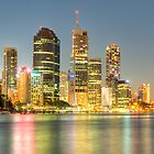 Brisbane City by Frank Moroni