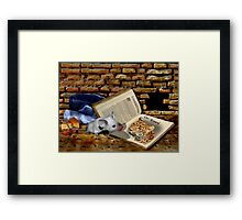 This is the beginning Framed Print