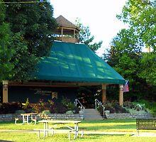 Park in New Richmond, Ohio by debbiedoda