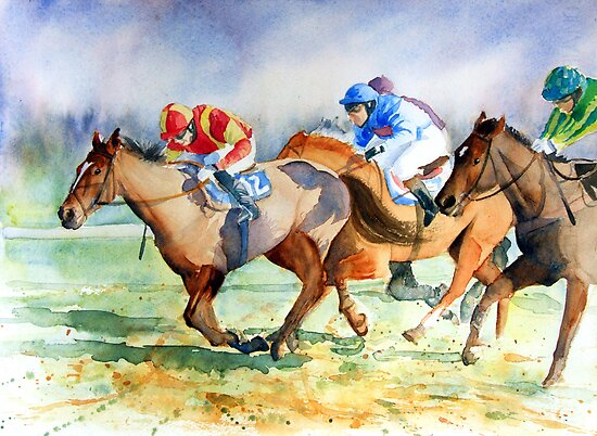 In the Running by Ruth S Harris