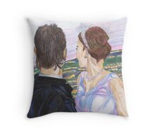 A Marriage made in LA Throw Pillow