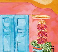 Blue Door by Daedre Ross