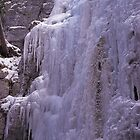 Maligne Ice Wall by Graeme Wallace