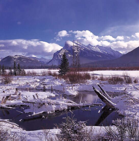 Vermillion Lake Freeze by Graeme Wallace
