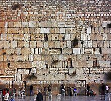 Wailing Wall - Jerusalem by Thomas Cox