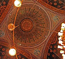 Mosque Ceiling - Cairo, Egypt by Thomas Cox
