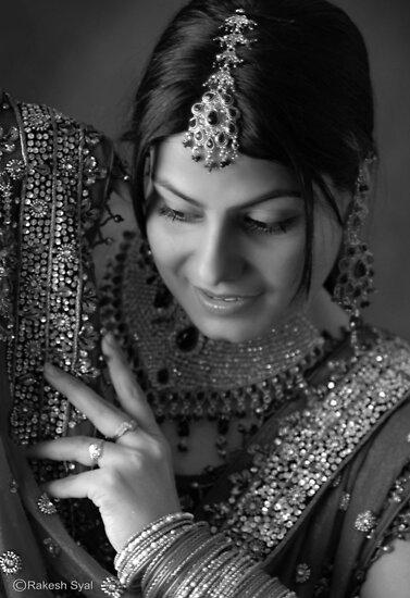 POOJA, THE NEWLY WED by RakeshSyal