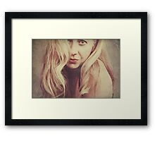 Hiding Away In My Own Little Dream World Framed Print