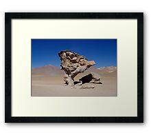The Stone Tree Framed Print