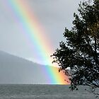 Rainbow over Odell by Randall Ingalls