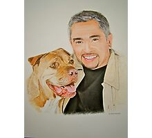 Cesar and Daddy.. Photographic Print