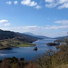 The Queen's View - Loch Tummel, Scotland by Helen Barnett