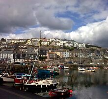 Mevagissey Harbour by Andrew  Bailey