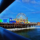Santa Monica Pier, California by Stephen Burke