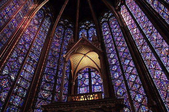 Colors of Sainte Chapelle by elthar