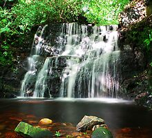 Dappled Waterfall by Paul Gibbons