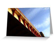 railbridge  lambeth road Greeting Card