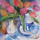 Tea for Two by artbyrachel