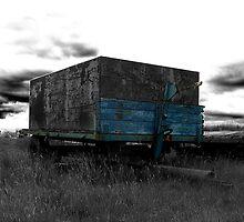 Old trailer - Ogden, Halifax, UK by Andy Beattie